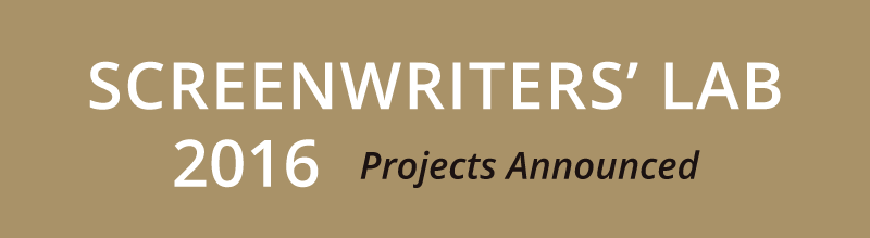 Screenwriters Lab Project 2016