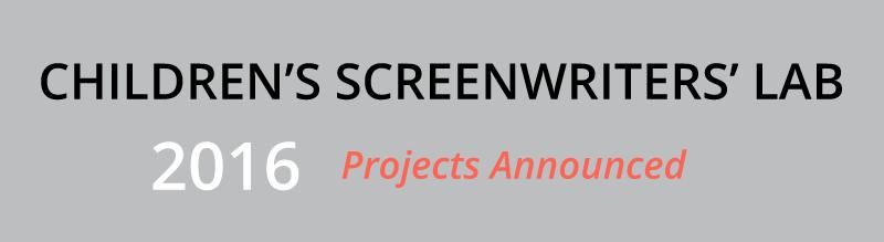 Childrens Screenwriters Lab