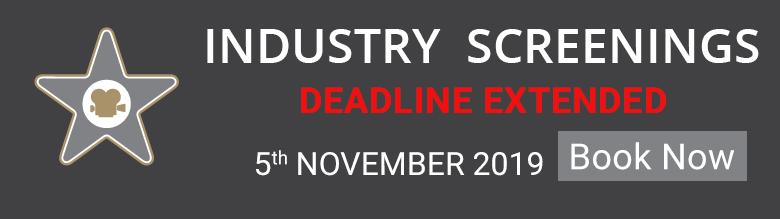Industry Screening 2019 Extended Deadline