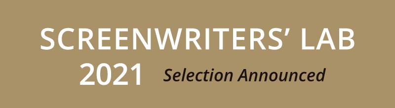 Screenwriters Lab 2021 Selection